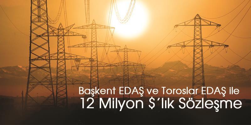 Türkiye'nin lider orta gerilim hücre üreticisi Ulusoy Elektrik, Başkent Elektrik Dağıtım A.Ş ve Toroslar Elektrik Dağıtım A.Ş ile 12 Milyon Amerikan Doları tutarında sözleşme imzaladı.