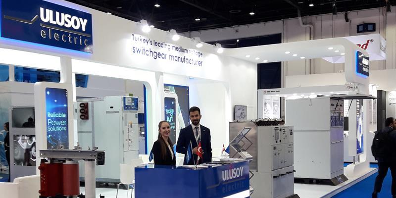 Ulusoy Elektrik, 6-8 Mart tarihleri arasında Dubai'de düzenlenen Middle East Electricity Fuarı'nda dünyanın dört bir yanından gelen sektör temsilcileriyle buluştu.