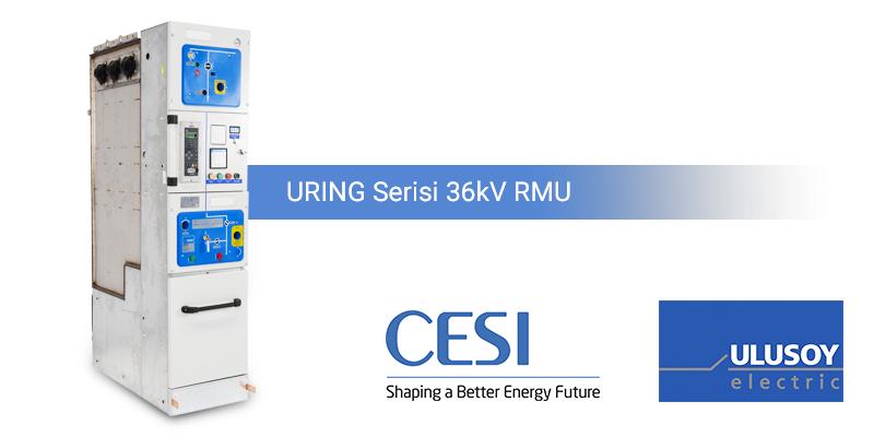 Ulusoy Elektrik URING Serisi RMU'lar Testleri Başarıyla Tamamladı