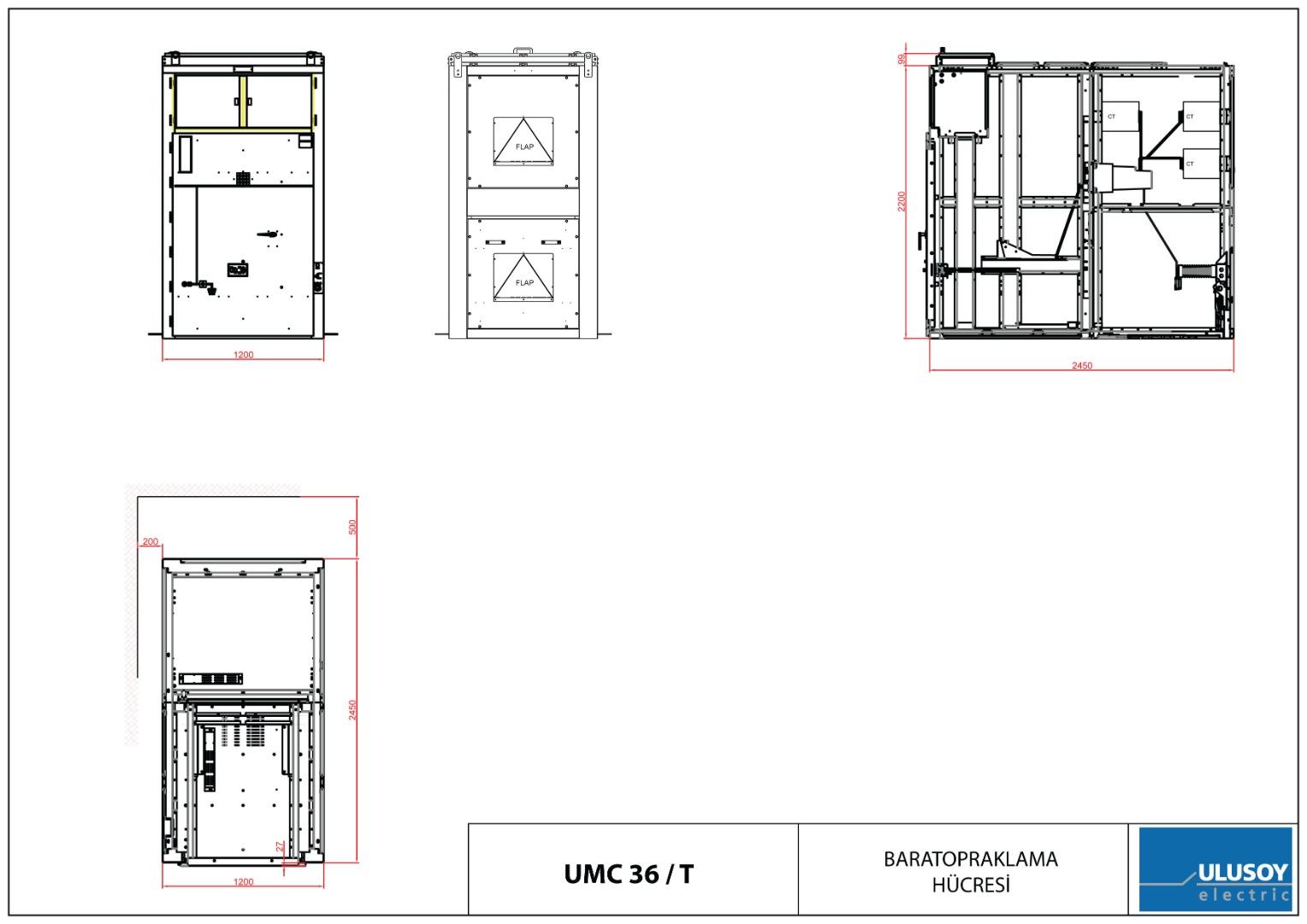 Ulusoy UMC Serisi Metal Clad (Çekmeceli)