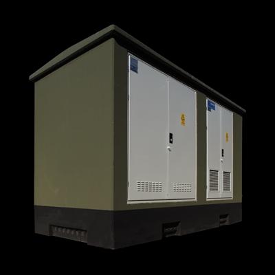 UBET Serisi Kompakt Beton Trafo Merkezi