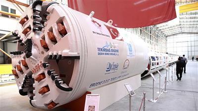 Dünya'nın 8. Tünel Aşma Makinesinin Trafo ve O.G. Şalt Ekpimanı Ulusoy Tarafından Üretildi