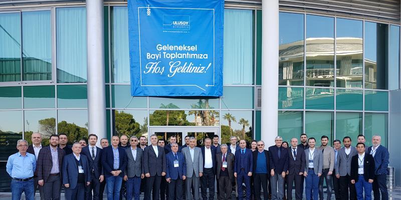 Ulusoy Elektrik 2. Geleneksel Bayi Toplantısı Antalya'da yapıldı.